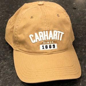 New Carhartt Tan Strap Back Hat / Cap NWOT!
